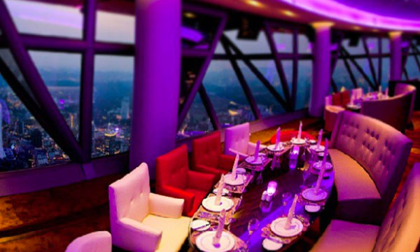 KL Tower Dinner Night Tour